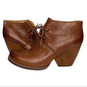 Korks Ankle Booties lace up